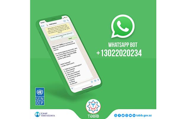 Azərbaycanda koronavirusla bağlı WhatsApp botu istifadəyə verildi