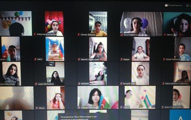 Nəsimi rayonunda 1 iyunla əlaqədar onlayn tədbir
