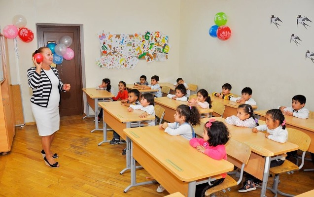 Məktəbəhazırlığa gedən uşaqların sayı 10 faiz artıb