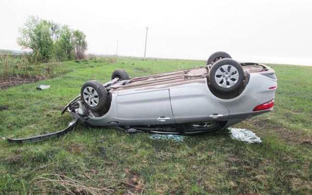 Hacıqabulda maşın aşdı, sürücü öldü