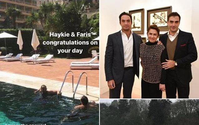 Ermənistan Prezidentinin oğlu həmcinsi ilə evləndi
