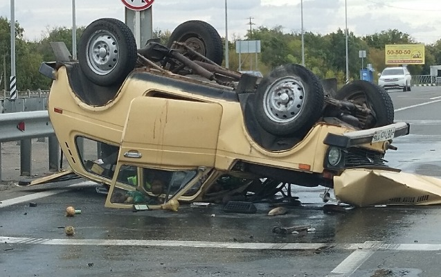 Ağdaşda avtomobil aşdı, sürücü öldü