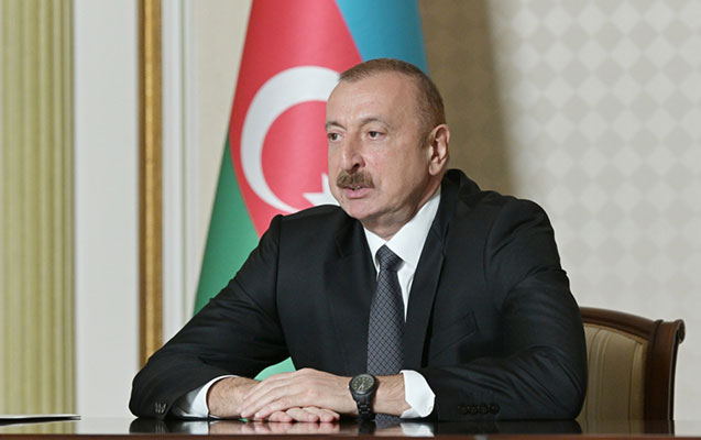 Prezident Ceyhun Bayramovu videoformatda qəbul etdi