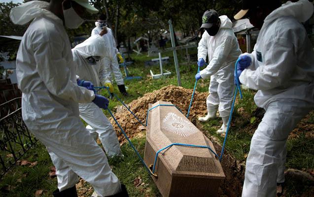 Bu ölkədə koronavirusdan ölənlərin sayı 217 mini ötdü