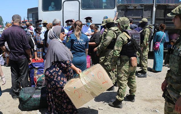 155 vətəndaşımız Dağıstandan Azərbaycana gətirildi