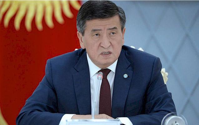 """""""Qırğızıstan Prezidenti müəyyən şərtlərlə könüllü istefaya hazırdır"""""""