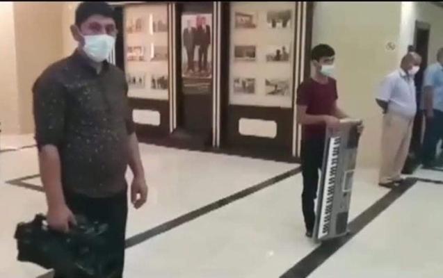 Zərdabda toy edənlər saxlanıldı - Video