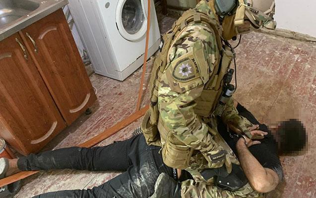 Ukraynada 3 Azərbaycan vətəndaşı saxlanıldı - Fotolar