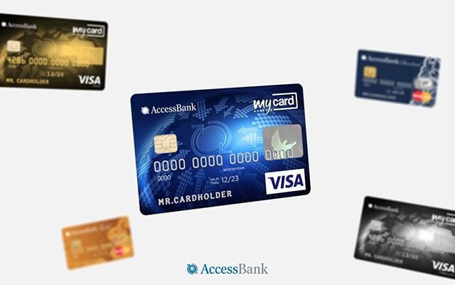 """""""AccessBank""""dan asan, rahat və sərfəli debit kartlar!"""