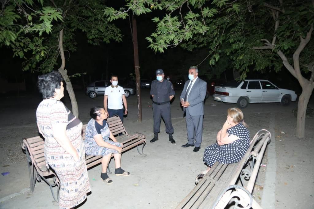 Gəncədə karantin rejimi ilə əlaqədar reyd keçirilib