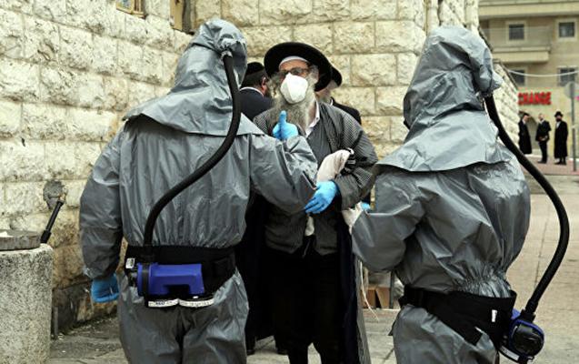 İsraildə bir gündə mindən çox insan virusa yoluxdu