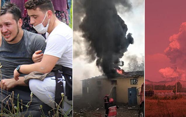 Türkiyədə güclü partlayış - 2 ölü, 74 yaralı + Fotolar