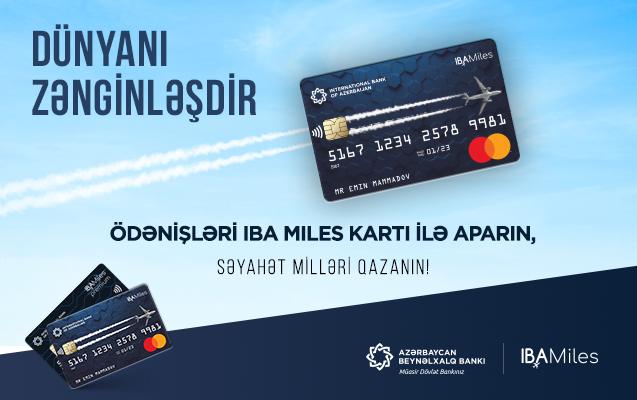 Gələcək səyahətlər üçün indidən millər topla!