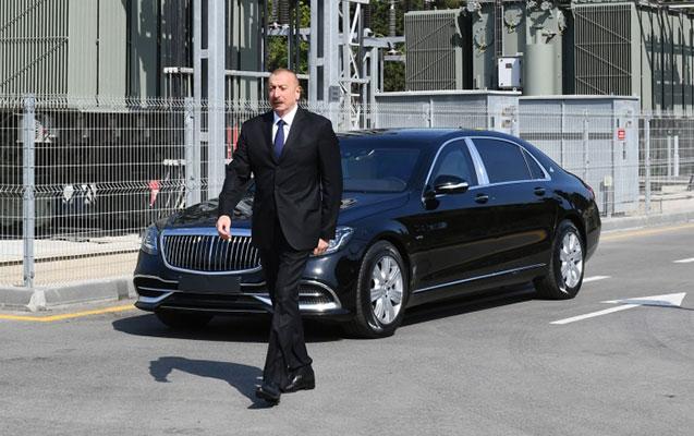İlham Əliyev açılışa qatıldı