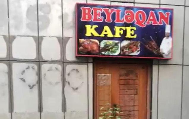 Bu kafenin icarədarı 3000 manat cərimələndi