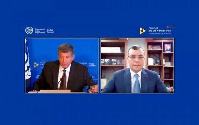 """Sahil Babayev """"Tərəfdaşlar Günü"""" tədbirinin açılışında çıxış edib"""