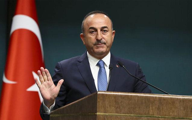 """Ermənistan ağlını başına yığsın"" Çavuşoğlu+Video"