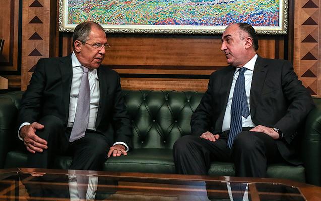 Məmmədyarov Lavrovla telefonla danışdı