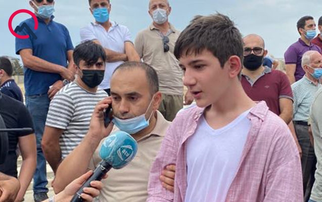 """""""Fəxr edirəm ki, şəhidlik zirvəsinə ucaldı"""" – Generalın oğlu+Video"""
