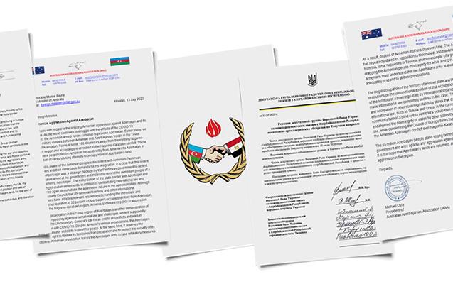 Dünya azərbaycanlıları Ermənistana qarşı sərt sanksiyalar tələb edir
