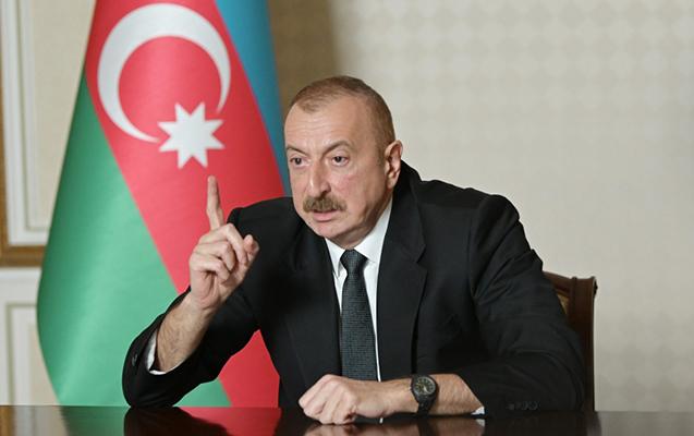 """""""Azad edilmiş ərazilərə Azərbaycan bayrağı sancıldı"""" - Prezident"""