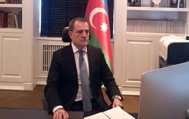 Ceyhun Bayramov XİN başçısı kimi ilk iclasa qatıldı