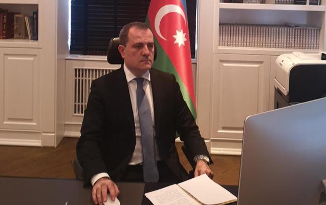 Ceyhun Bayramov XİN başçısı kimi ilk iclasa qatıldı - Foto