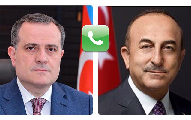 Azərbaycan və Türkiyə XİN rəhbərləri telefonla danışdı