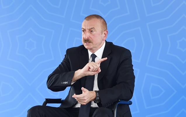 İlham Əliyev Ermənistanın Türkiyəyə ərazi iddiasından danışdı