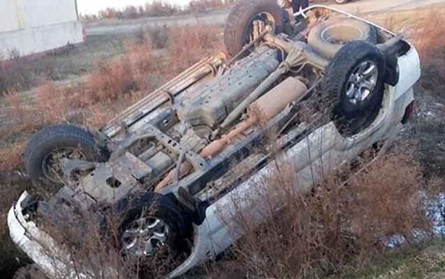 """""""Toyota""""sını aşırdı, öldü"""