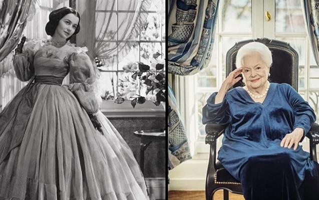 """""""Küləklə sovrulanlar""""ın 104 yaşlı ulduzu dünyasını dəyişdi"""