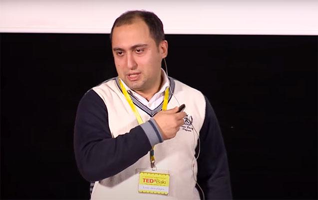"""Yeni nazirin 7 il əvvəlki """"TEDx"""" çıxışı - Video"""