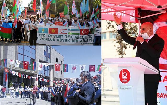 Türkiyədə Azərbaycana dəstək aksiyaları keçirilir