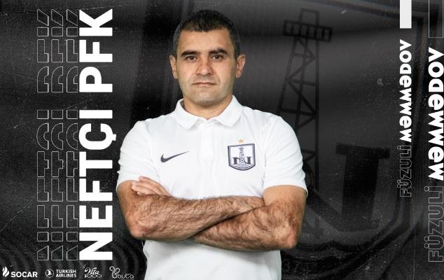 """Füzuli Məmmədov daha 2 il """"Neftçi""""də"""