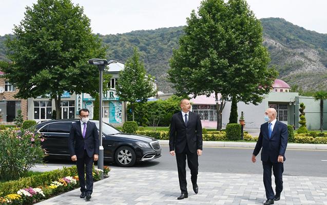 """Balakəndə """"ASAN xidmət"""" açıldı - Fotolar + Video + Yenilənib"""