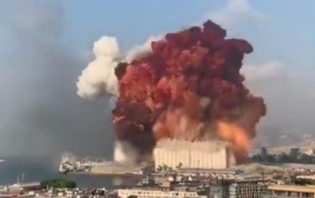 Beyrutda ard-arda güclü partlayışlar - 70-dən çox ölü, 3 mindən çox yaralı + Video