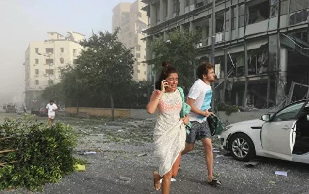 BMT-dən Beyrutdakı partlayışla bağlı açıqlama