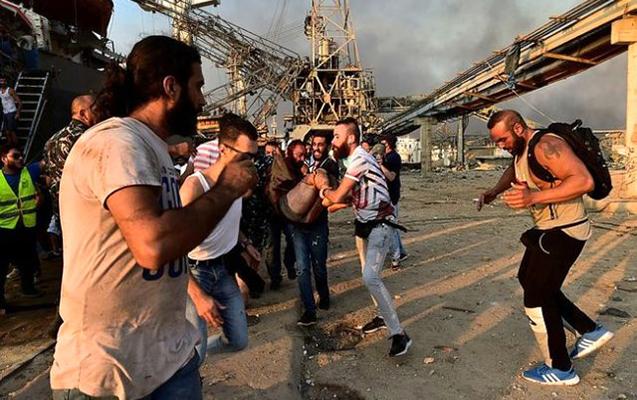 İŞİD Beyrutdakı partlayışı öz üzərinə götürdü