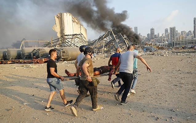 Beyrutdakı partlayışda ölənlərin sayı 100-ü keçdi - Yenilənib