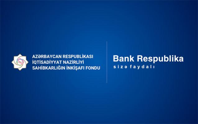 Bank Respublika pandemiyadan zərər çəkmiş sahibkarlara birgə dəstək olur