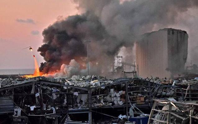 Beyrutda ölənlərin sayı artır