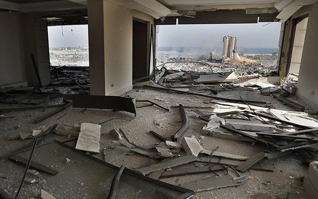 Beyrutdakı partlayışda ölənlərin sayı artır