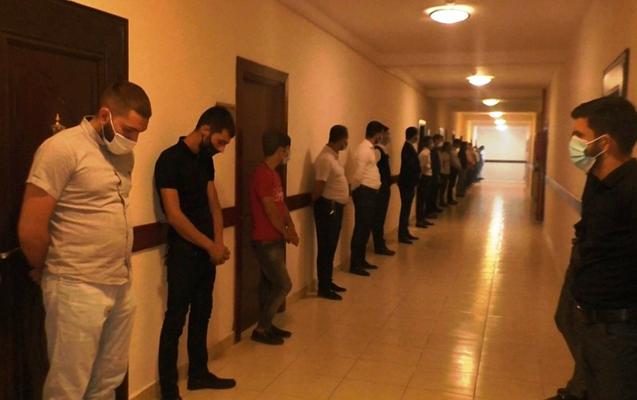Qubada bəy və 29 nəfər saxlanıldı