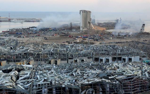 Beyrutda partlayışda ölənlərin sayı artdı