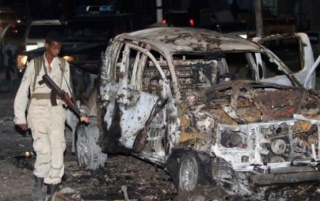 Somalinin paytaxtında terror aktı