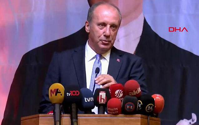 Muharrem İncə CHP-ni sərt tənqid etdi