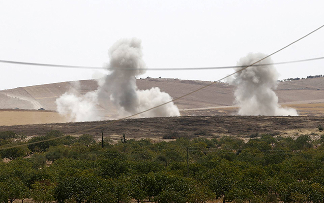 ABŞ Suriya ordusunu bombaladı, 1 hərbçi öldü
