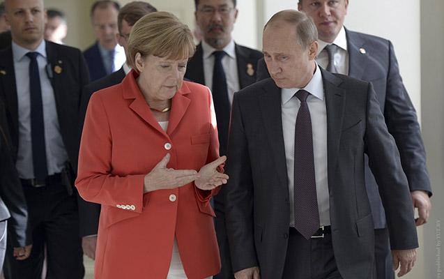 Bu gün Putinlə Merkel görüşəcək