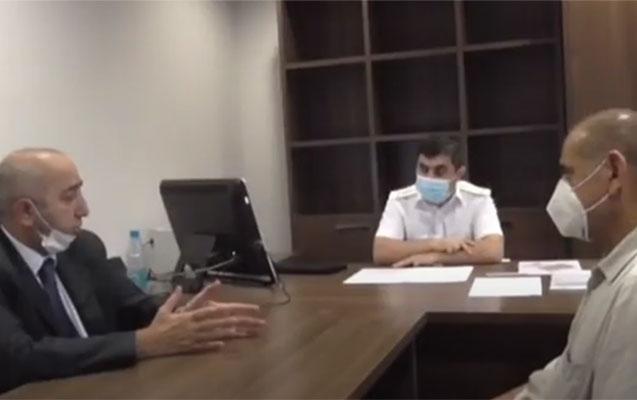 İcra Hakimiyyətindəki əməliyyatdan - Video