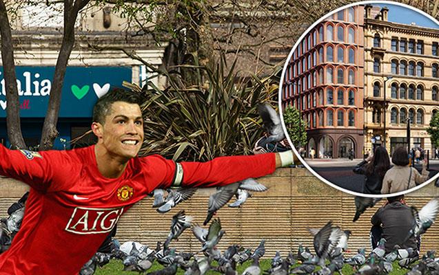 Ronaldo Mançesterdə otel tikdirəcək - Fotolar